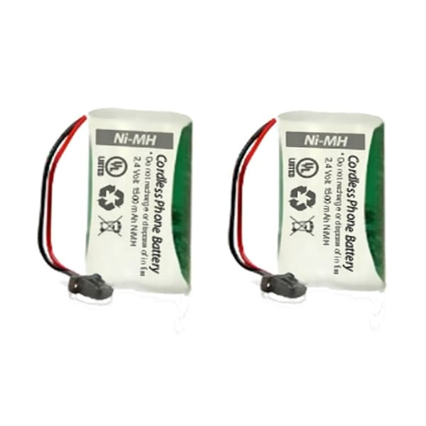 Replacement Uniden BT1008 Battery for D1660-2 / D1788-3 / DECT1363-White Phone Models (2 Pack)