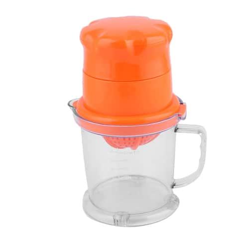 Household Kitchen Plastic Fruits Press Squeezer Manual Juicer Orange 450ML