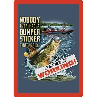 Link to Fishin-Bumper Sticker Sign Similar Items in Decorative Accessories