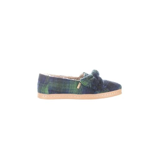 TOMS Womens Alpargata Green Casual Flats Size 5.5