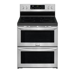 Frigidaire FGEF302TP 30 Inch Wide 7.2 Cu. Ft. Free Standing Electric Range with Symmetry Double Ovens - Stainless Steel