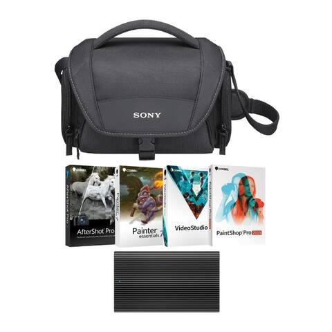 """Sony Trade Up Trade in 2019 Premium Lens Bonus Kit - 7.9"""" x 4.4"""" x 4.75"""""""