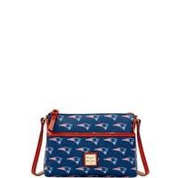 Dooney & Bourke NFL New England Patriots Ginger Crossbody Shoulder Bag (Introduced by Dooney & Bourke at $148 in Sep 2017)