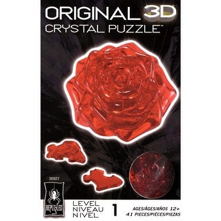 Crystal Puzzles 3D Rose