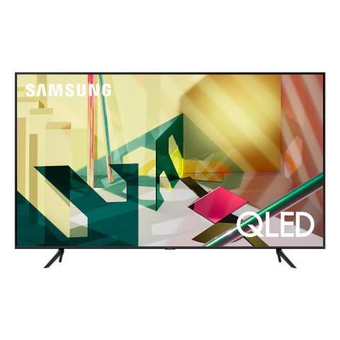 "Samsung QN55Q70TA 55"" QLED 4K UHD Smart TV - Steel"