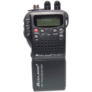 Mini 40-Channel CB with Weather All-Hazard Monitor & Mobile Adapter