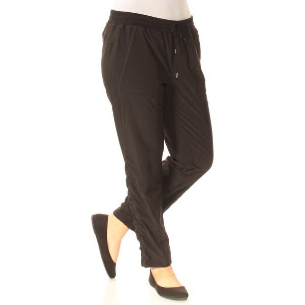 Shop Ralph Lauren Womens Black Lounge Pants Size 6 On Sale Free