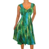 Funfash Plus Size Women Emerald Green Sexy Cocktail Dress Made in USA