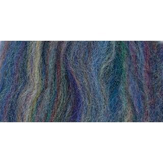 "Wool Roving 12"" .22oz-Blue Variegated - Blue"