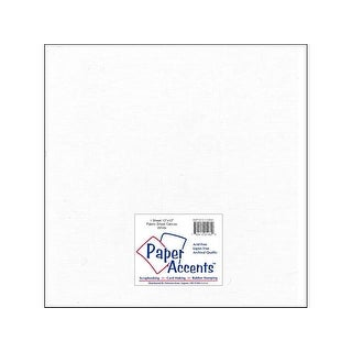 Fabric Sheet 12x12 Canvas White 1pc