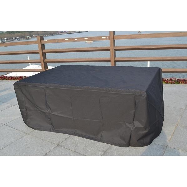 Moda Durable Patio Rectangle Waterproof Furniture Set Rain Cover. Opens flyout.