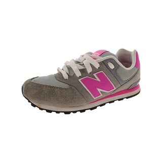 New Balance Girls 574 Fashion Sneakers Mesh Inset Non Marking