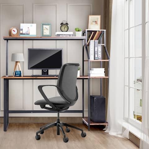 Home Office Furniture Computer Desk Brown