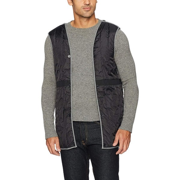 Cole Haan Signature Mens 2-in-1 Car Coat with Removable Lining