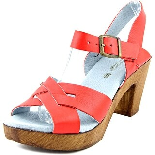 Eric Michael Philly Red Sandals