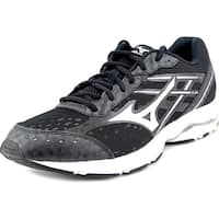 Mizuno Wave Unite 2 Men  Round Toe Synthetic Black Running Shoe