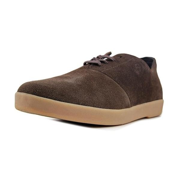 HUF Gillette Men Brown Light Gum Sneakers Shoes