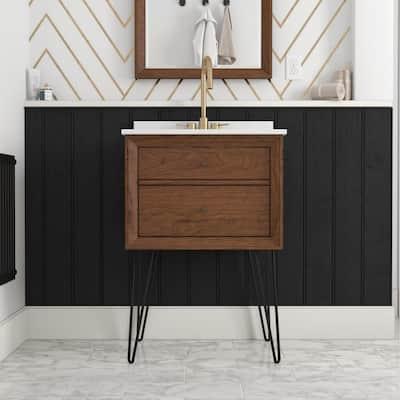 Avenue Greene Tonya 24 Inch Floating Bathroom Vanity with Sink