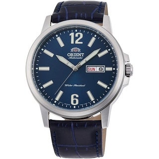 Link to Orient Men's RA-AA0C05L19B 'Classic' Blue Leather Watch Similar Items in Men's Watches