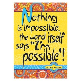 Poster - Nothing Is Impossible