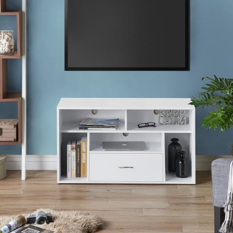 Furniture of America Eldo Modern 39-inch Storage TV Stand