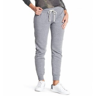 Alternative NEW Gray Womens Size XL Eco-Distressed Knit Jogger Sweats