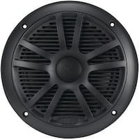 Boss MR6B Marine 6.5 in. Dual Cone Speakers - Black