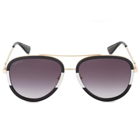 3c4b05fd3ee Gucci GG0062S 006 57 Aviator Sunglasses