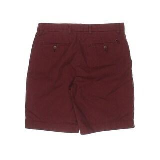 Tommy Hilfiger Mens Classic Fit Cotton Khaki, Chino Shorts