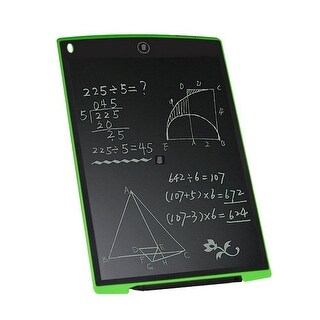 Children's 8.5-inch Paperless LCD eWriter Drawing Tablet - Great Gift for kids - Green