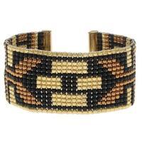 Deco Metallics Loom Bracelet - Exclusive Beadaholique Jewelry Kit