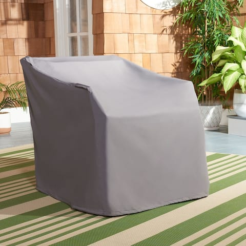 """Safavieh Outdoor Living Vernon Rocking Chair Grey Cover - 30.7"""" W x 32.7"""" L x 26.4"""" H"""
