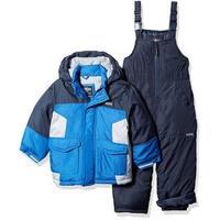 Osh Kosh Boys 12-24 Months Pieced Snowsuit - Blue