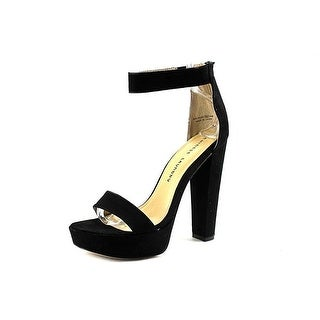 Chinese Laundry Womens Make Believe Suede Open Toe Special Occasion Platform ...