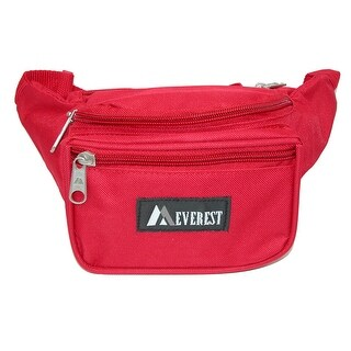 Everest Fabric Multi Pocket Waist Pack