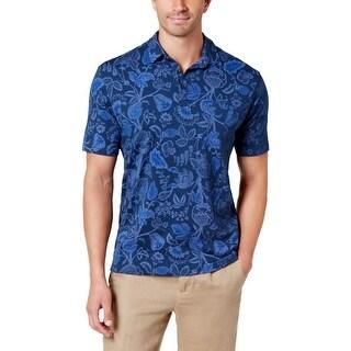 Tommy Bahama Mens Polo Shirt Garden Print - XL