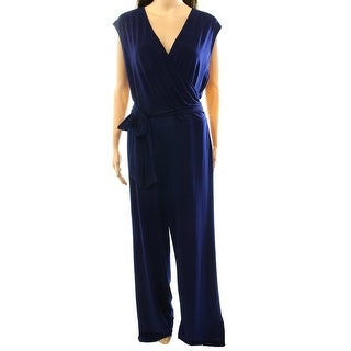 Lauren Ralph Lauren NEW Navy Blue Women's Size Small S Jumpsuit