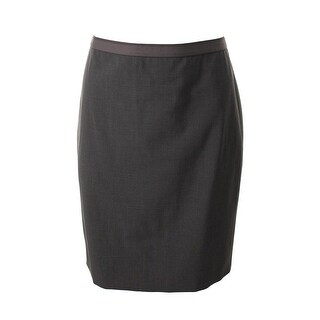 Elie Tahari Womens Pencil Skirt Wool Full Zip - 2