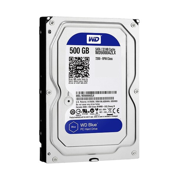"Western Digital Wd5000azlx 500Gb Caviar Blue Oem 3.5"" Internal Hard Drive"