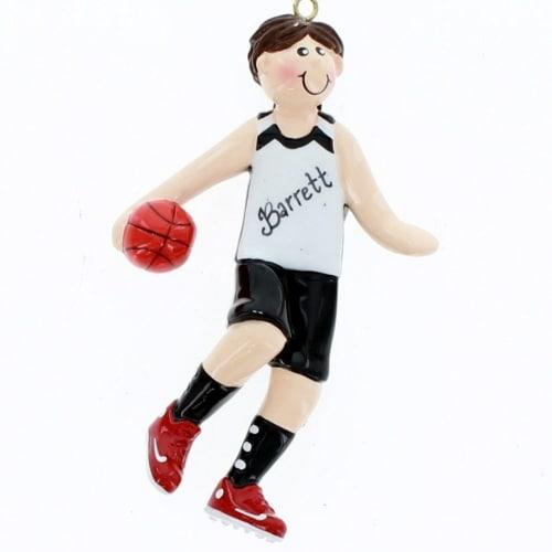 Brunette Basketball Boy