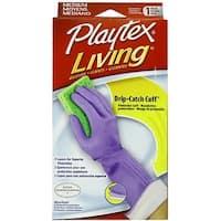 Playtex Living Drip-Catch Cuff Gloves, Medium 1 Pair