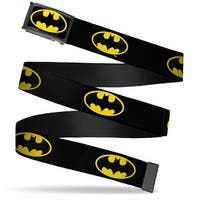 Batman Fcg Black Yellow Black Frame Batman Shield Black Yellow Web Belt