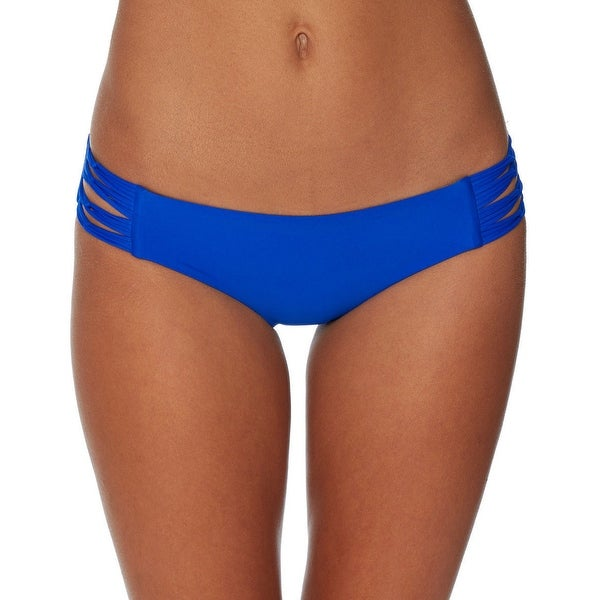 d462804c0d7 Women's Body Glove Smoothies Ruby Strappy Mid‑Rise Bikini Bottoms Abyss  Size XS