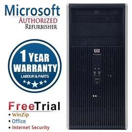 Refurbished HP Compaq DC5800 Tower Dual-Core E2200 2.2G 4G DDR2 320G DVD WIN 7 PRO 64 1 Year Warranty