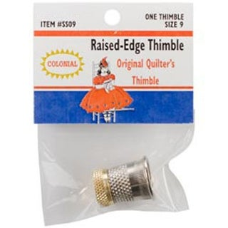 Size 9 - Raised-Edge Thimble