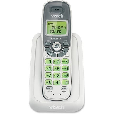 Vtech cs6114 cordless phone w/ cid/ call waiting