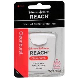REACH Cleanburst Waxed Floss Cinnamon 55 Yards