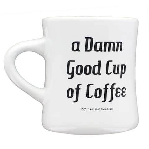 Twin Peaks Good Cup of Coffee 11oz Ceramic Coffee Mug - Multi