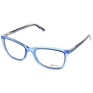 Just Cavalli JC0530/V 084 Cornflower Blue Square Optical Frames - Cornflower blue - 54-17-140