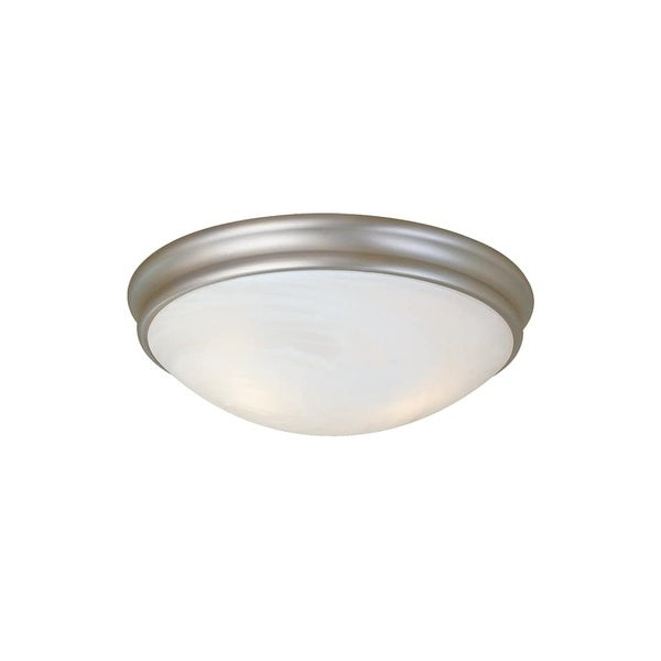 Millennium Lighting 5131 1 Light Flush Mount Ceiling Fixture Satin Nickel